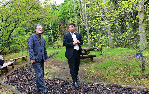 椎野先生と井上氏