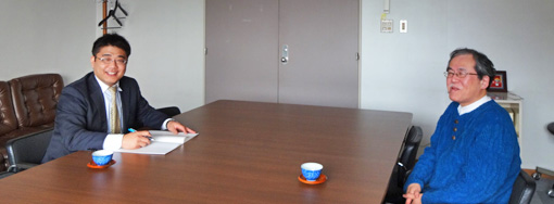 椎野先生と井上氏の対談