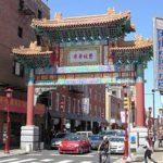20180812 フィアデルフィア観光「CHINATOWN」Friendship Gate (10th and Arch Streets)  from Arch Street to Vine Street, and from 11th street to 8th Street