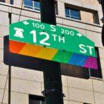 """20180812 フィアデルフィア観光「Midtown Village」13th Street from Chestnut to Locust Streets (the city's vibrant gay community: the""""Gayborhood"""")"""
