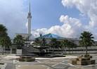 20161228モスク「(マレーシア)国立モスク」Natonal Mosque (Masjid Negara)マスジッド・ヌガラ