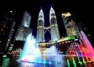 20161229噴水「(マレーシア・クアラルンプール)KLCC公園噴水ショー」KLCC Lake Symphony Water Fountain Show