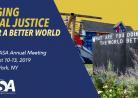 20190811学会114th ASA Annual Meeting August 10-13, 2019 New York, NY (Engaging Social Justice For a Better World)