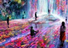 20191229ミュージアム「森ビルデジタルアートミュージアム:エプソンチームラボーダレス、東京」MORI Buildin DIGITAL ART MUSEUM: EPSON teamLab Borderless